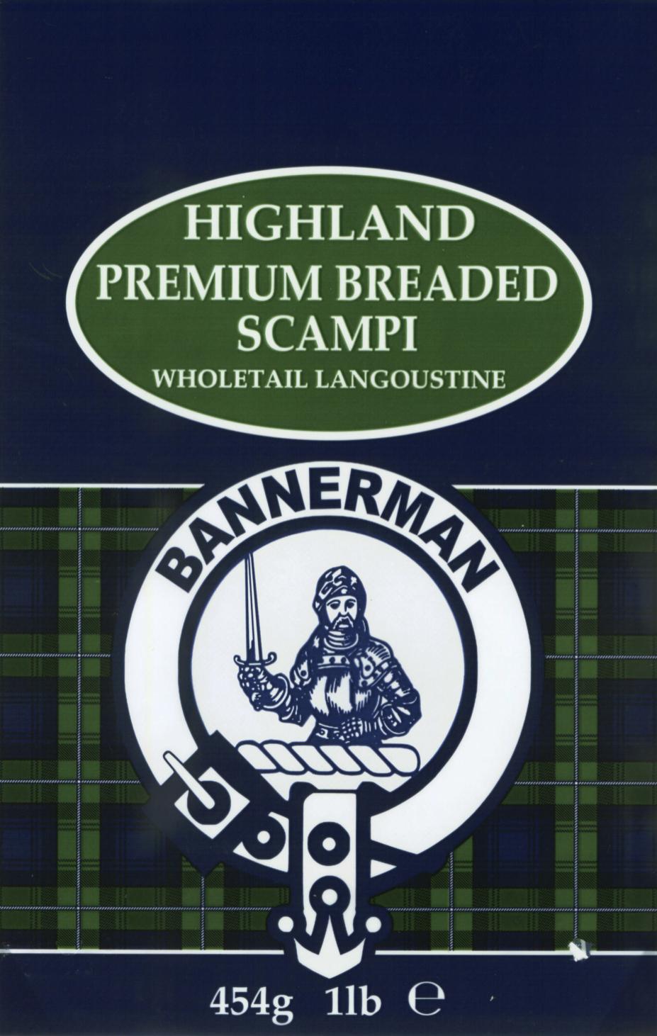 Highland Premium Breaded Scampi